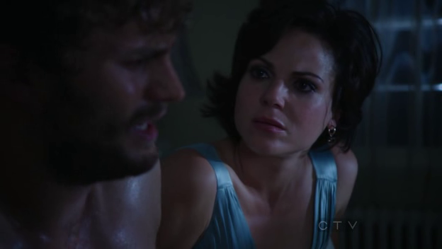Regina's not happy. This is not what your special friend's supposed to do post-coital.