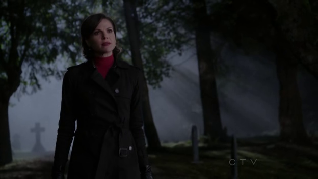 Regina can always tell when someone's in her territory.