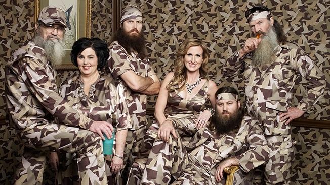 The Duck Dynasty family.
