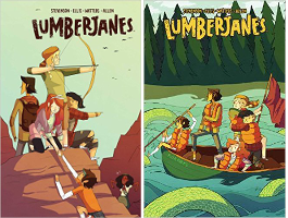 Lumberjanes Vol 2: Friendship to the Max and Lumberjanes Vol 3