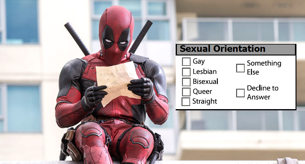 Deadpool's sexual orientation
