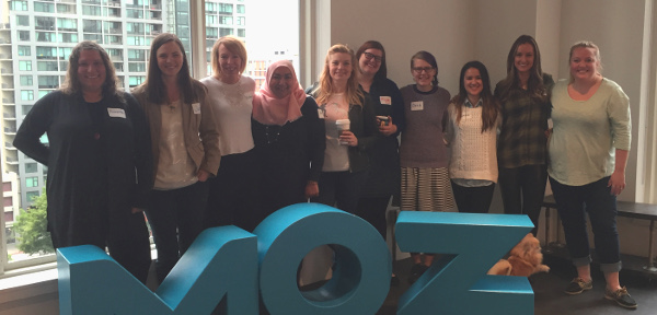 Women at Moz