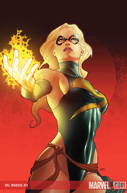 Ms. Marvel #31 cover