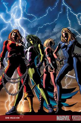 She-Hulk #34 cover