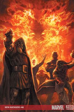 New Avengers #46 cover