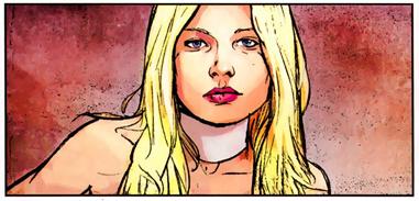 Emma Frost in Dark Reign #1