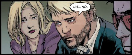 Carol, Hank, and Simon in the Mighty Avengers #20