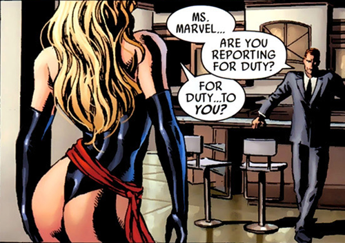 Ms. Marvel from Dark Avengers #1