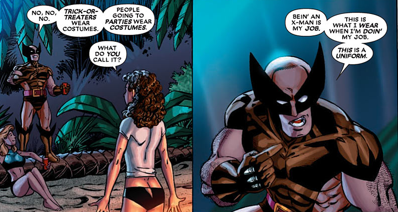 Wolverine: First Class #12: Wolverine says it's a uniform