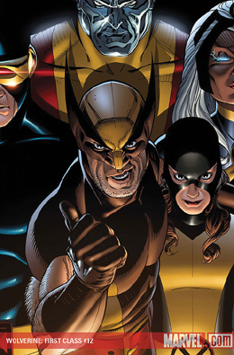 Wolverine First Class #12