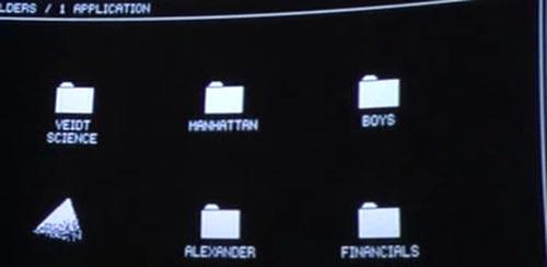 Adrian's computer folders