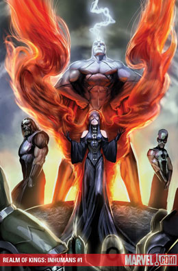 Realm of Kings: Inhumans #1