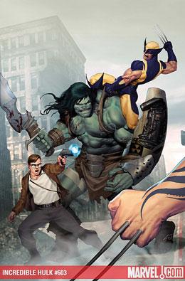 Incredible Hulk #603