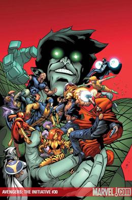 Avengers: Initiative #30