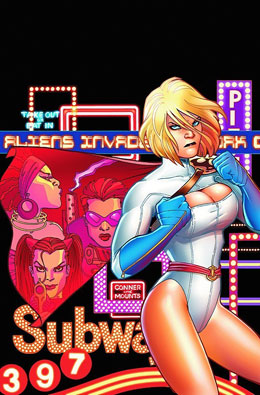 Reviews power girl and green comics