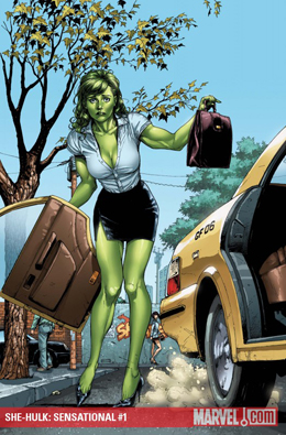 She-Hulk Sensational #1