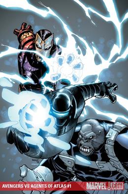 Avengers vs Atlas #1