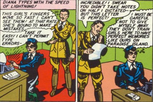 Diana: Super Secretary