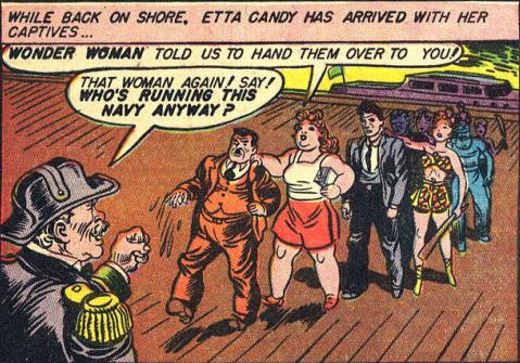 Admiral Funston admits that perhaps Etta secretly runs the Navy.