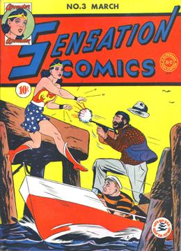 Sensation Comics #3
