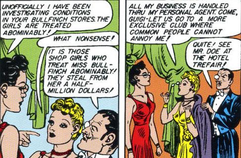 Diana confronts Gloria at a social event