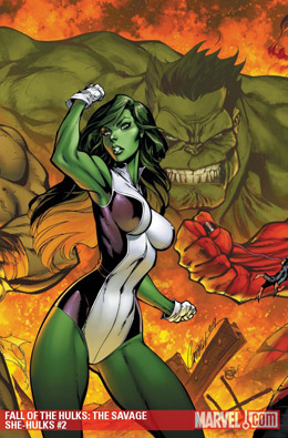 Fall of the Hulks: Savage She-Hulks #2