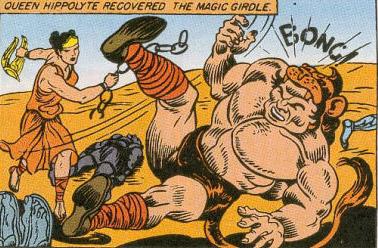 Hippolyta takes down Hercules