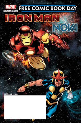 Iron Man Nova Free Comic Book Day 2010