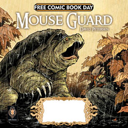 Archaia Studios Press Free Comic Book Day 2010 Fraggle Rock and Mouse Guard