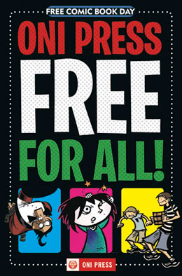 Oni Press Free for All #1 Free Comic Book Day 2010