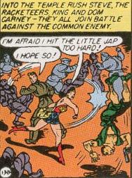 Wonder Woman, Steve Trevor, and mobsters take on the Burmese.