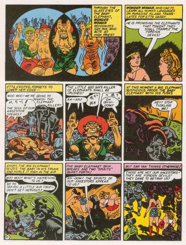 Wonder Woman #1 racism