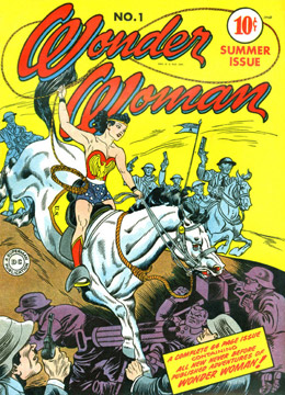Wonder Woman Vol 1 #1