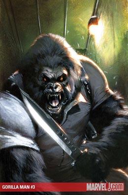 Gorilla-Man #3