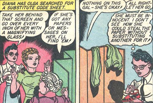 Diana orders Olga strip searched