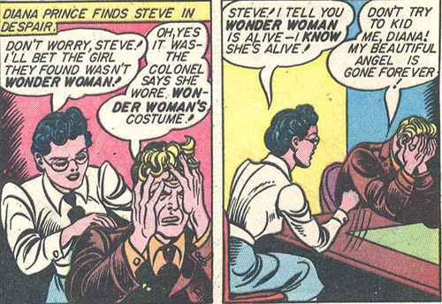 Steve is distraught over Wonder Women's death