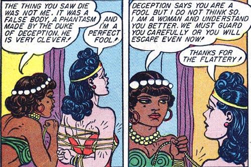Wonder Woman #2 Naha ties up Wonder Woman