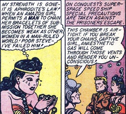 Wonder Woman #2 Wonder Woman and Steve Trevor are captured by Mars
