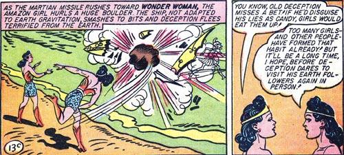 Wonder Woman #2 Wonder Woman and Etta take out Deception