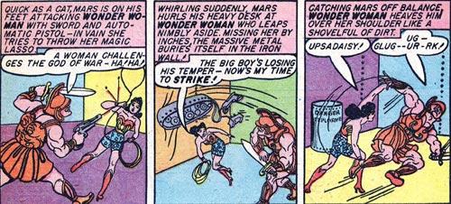Wonder Woman #2 Wonder Woman fights Mars