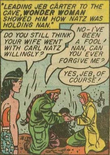 Nan and Jeb make up