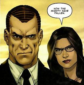 Norman Osborn and Victoria