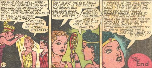 Aphrodite healds Paula.