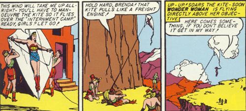 Wonder Woman sized kite