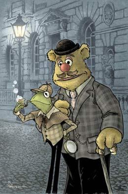 Muppet Sherlock Holmes #1