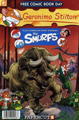 Geronimo Stilton and the Smurfs