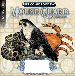 Dark Crystal: Preview / Mouse Guard: The Tale of the Wise Weaver