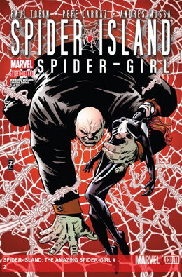 Spider-Island: Spider-Girl #2