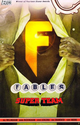 Fables: Super Team (Vol 16)