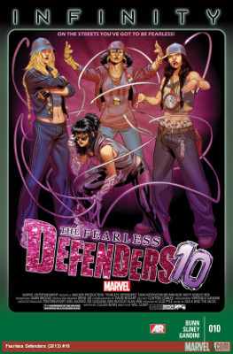 The Fearless Defenders #10